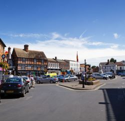 Wantage market place.