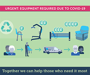 Help your NHS and hand back equipment